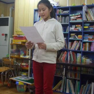 Grade 6 Speech