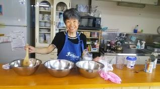 Mayumi kitchen magic!