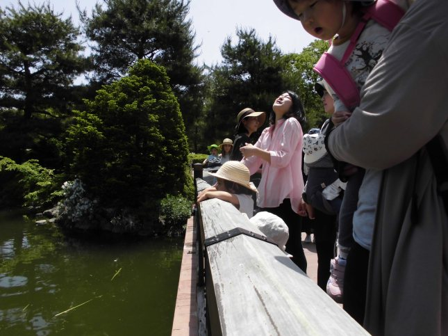 池の側にて By the Pond