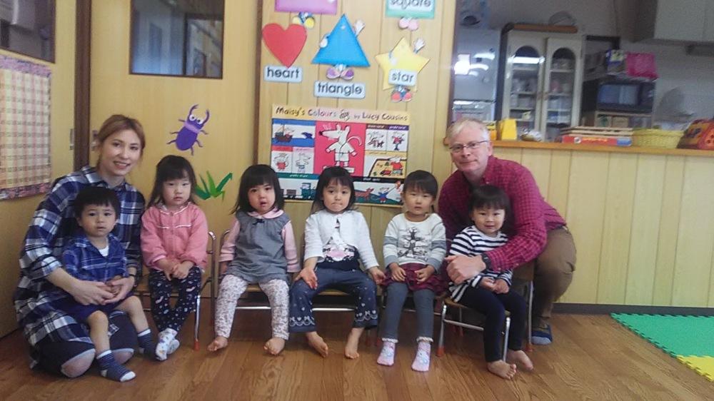 プレスクール英語クラス Preschool English Class